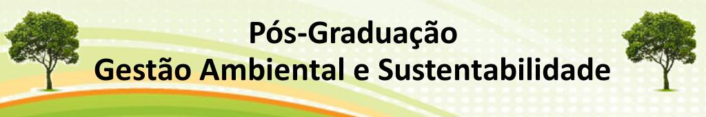 MBA em Gestão Ambiental e Sustentabilidade - UFSCar